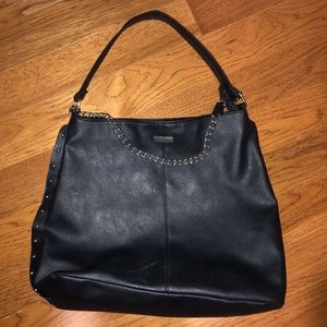 Boohoo Large Black Shoulder Bag